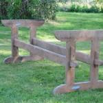 Swedish pine trestle table