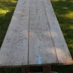 Swedish trestle table