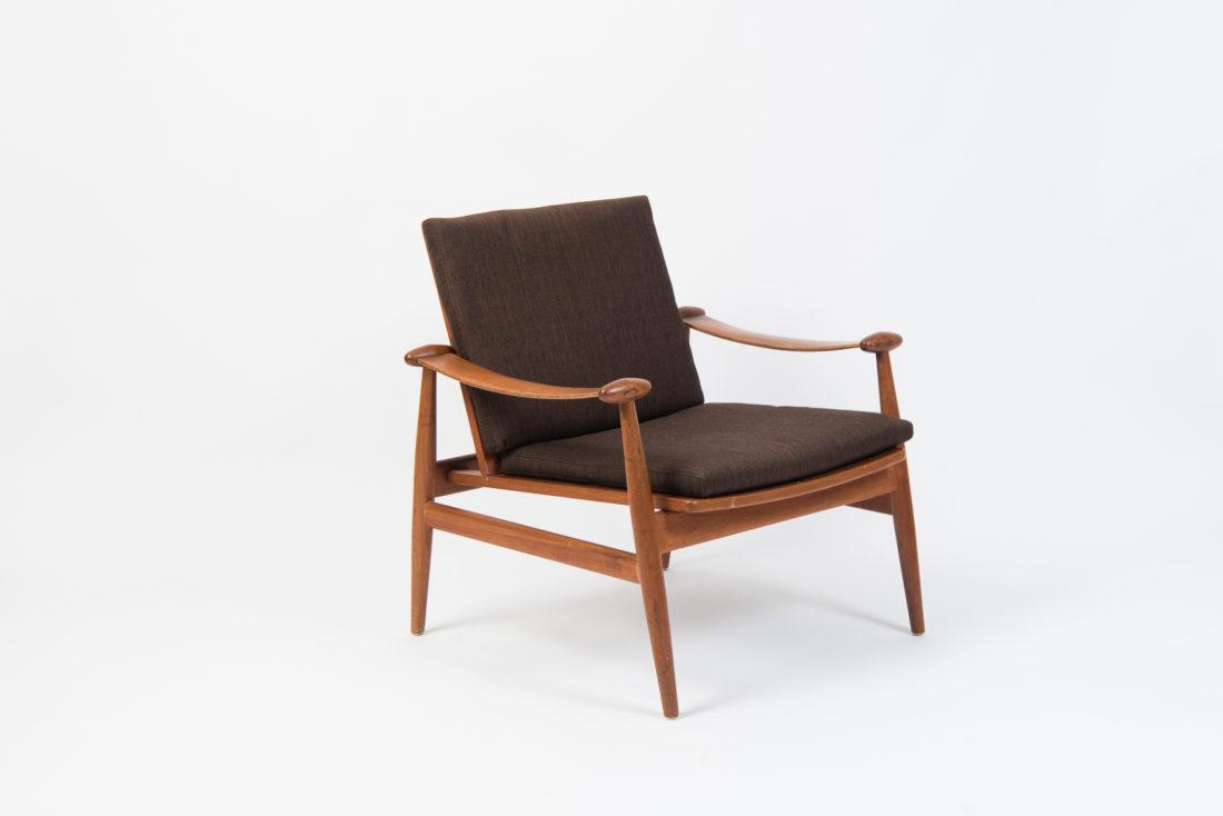 20th Century Spade Chair by Finn Juhl for France & Daverkosen