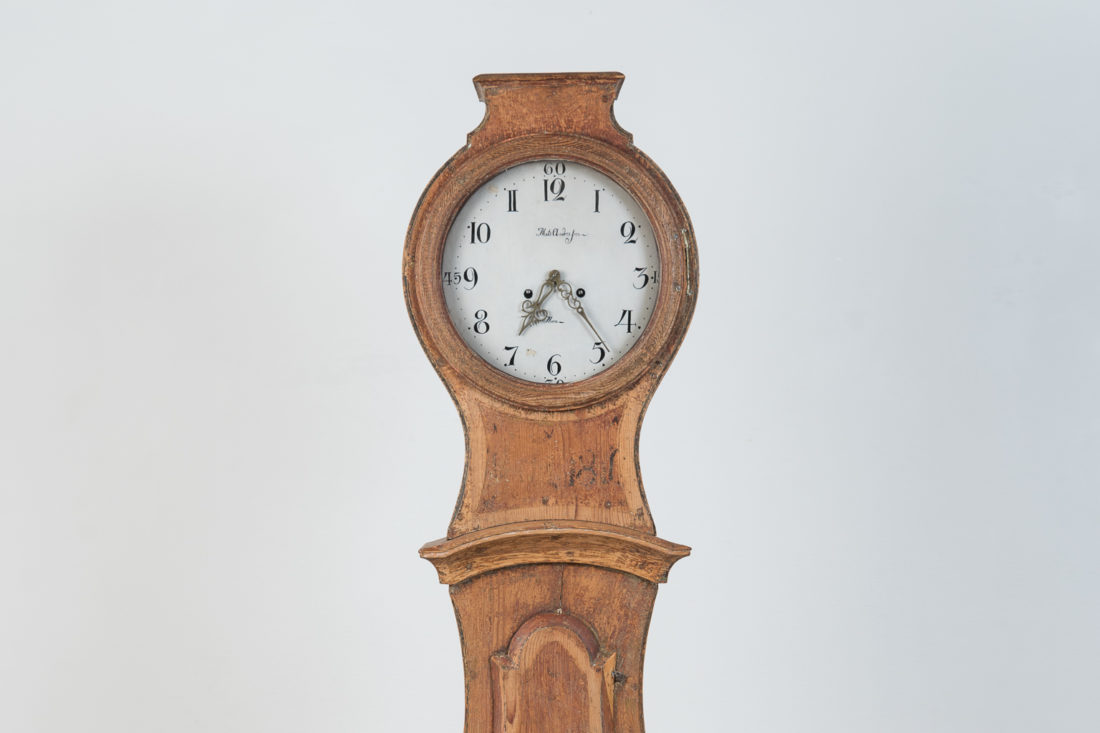 Mora Clock In Classic Shape From The Early 1800s