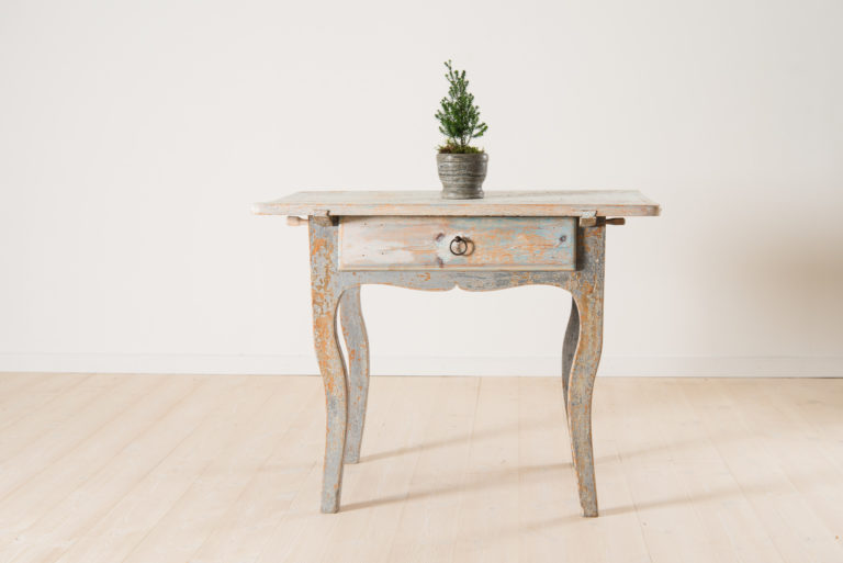 18th Century Folk Art Rococo Table
