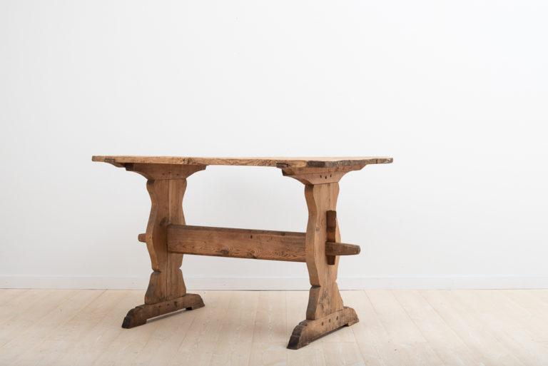 18th Century Rustic Swedish Trestle Table
