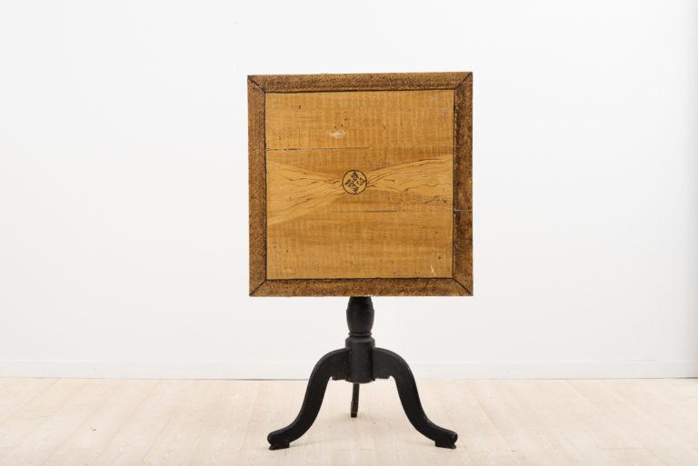 19th Century Swedish Column table