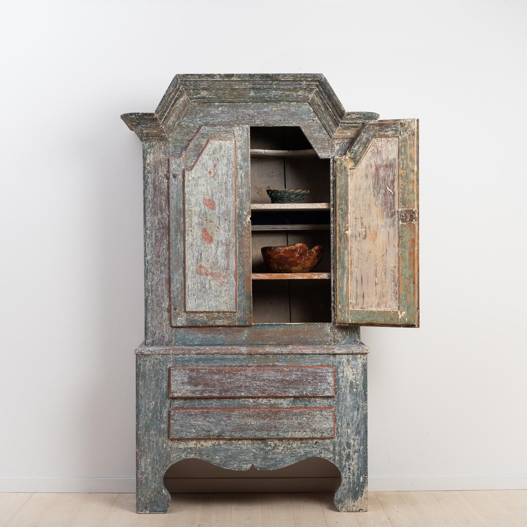 folk art cabinet