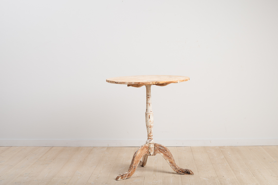 Swedish Tilt-Top Table from the 19th Century