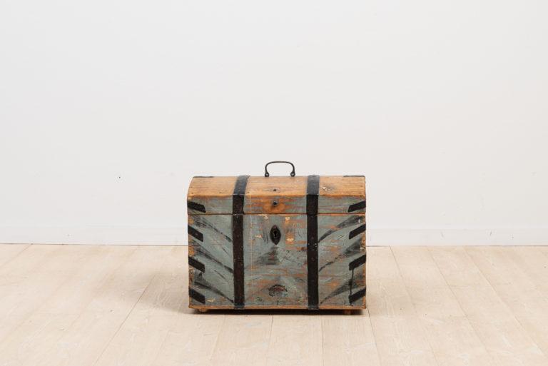 Folk Art Box from Västerbotten, Sweden