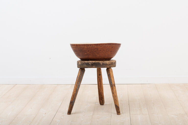 Wooden Bowl from Jämtland in Untouched Original Condition