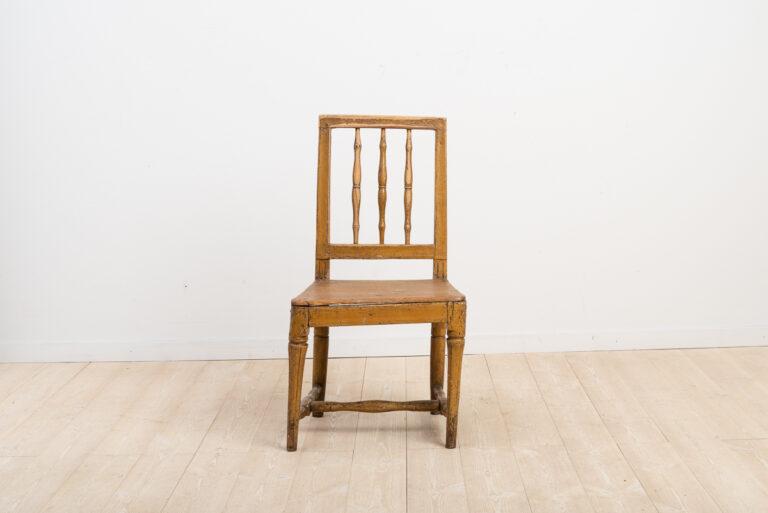 Provincial Swedish Gustavian Chair 18th Century