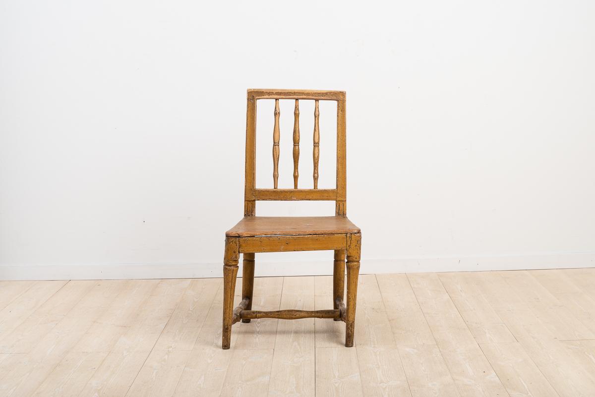 Provincial Swedish gustavian chair.