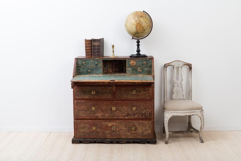 Folk Art Writing Bureau from the Late 1700s