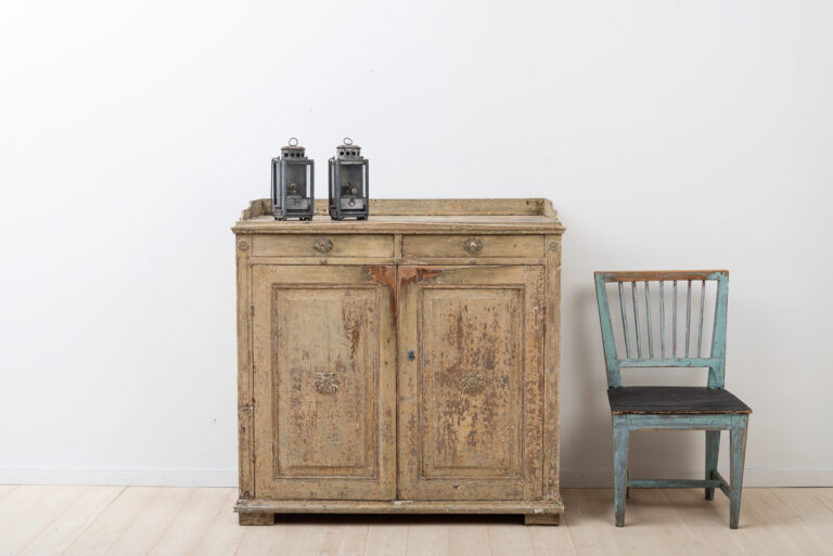 Swedish gustavian sideboard manufactured during the 1790s.