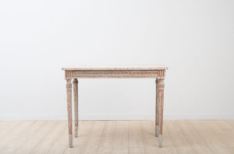 Provincial Gustavian Console Table 1790