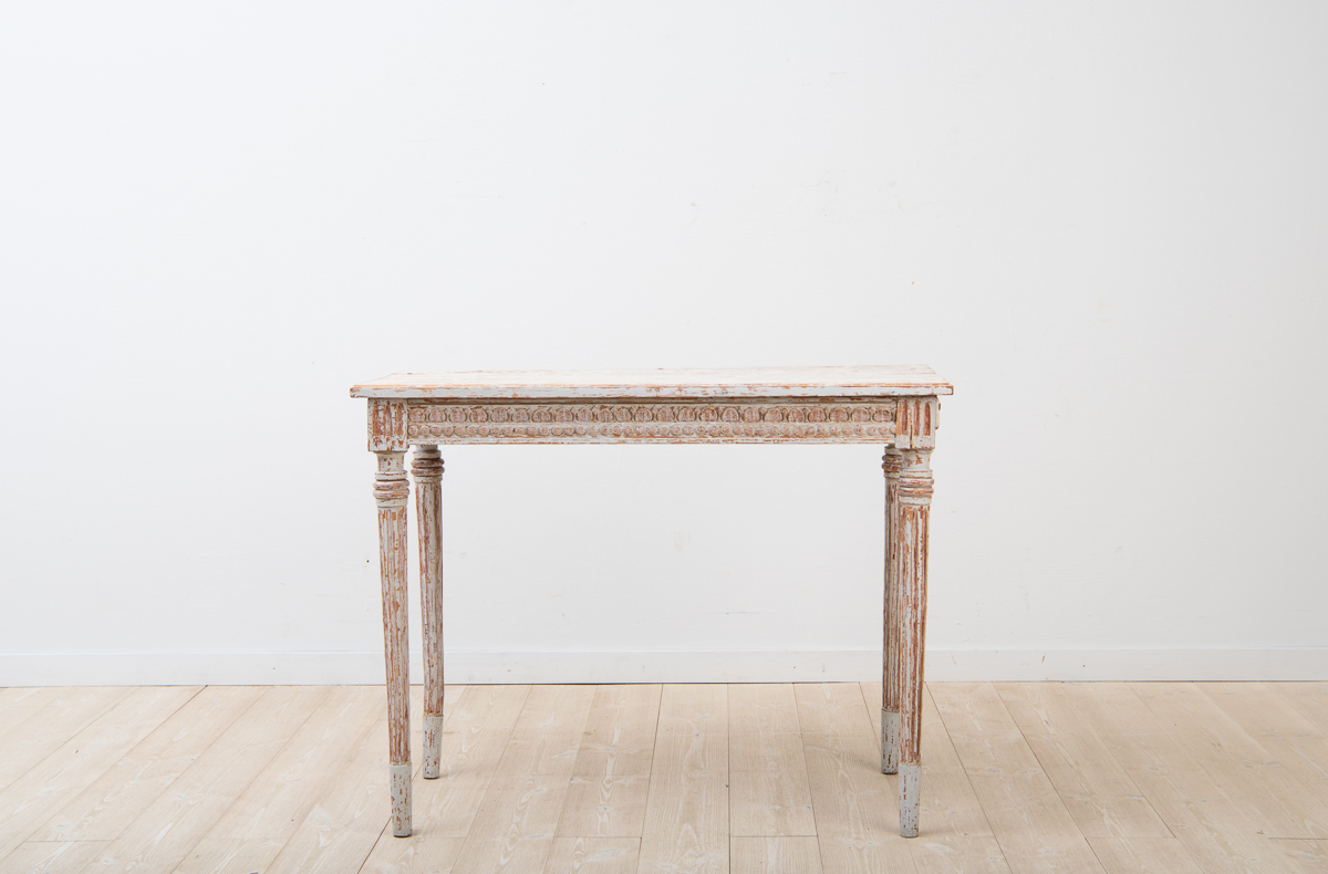 Provincial gustavian console table