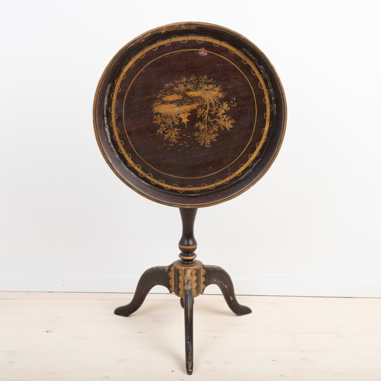 Swedish Tray Table from the Late 18th Century