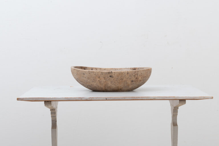 Swedish Wooden Bowl from the 19th Century