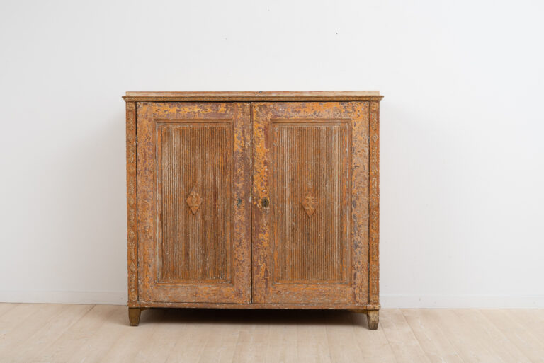 Gustavian Sideboard with Rustic Patina