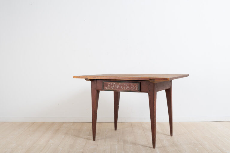 Provincial Gustavian Table from Northern Sweden