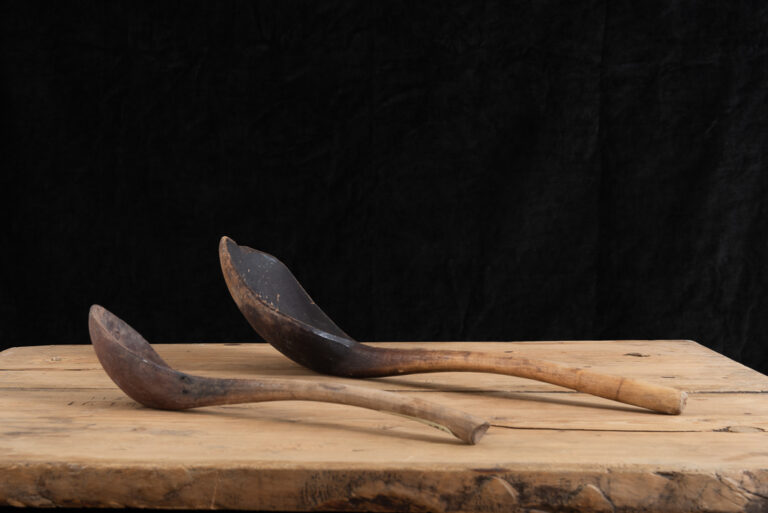 Large Wooden Ladles Manufactured in Sweden