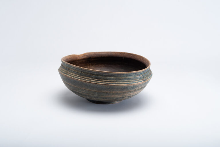 Swedish Wooden Bowl with Unusual Shape