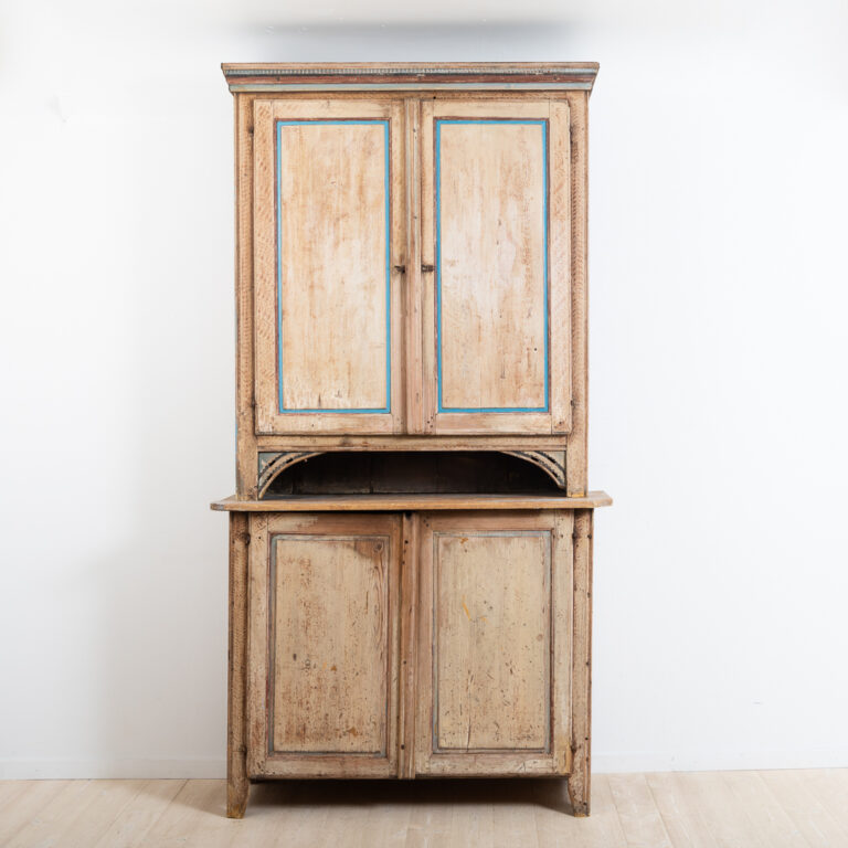 Gustavian Cabinet with Untouched Original Patina