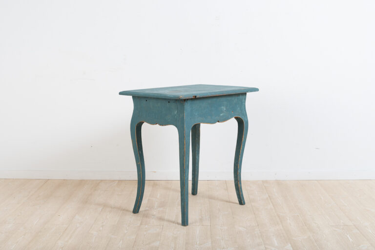 Artfully Decorated Rococo Table from Mälardalen