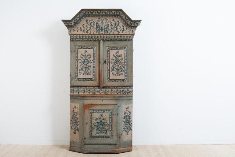 Folk Art Cabinet from Southern Hälsingland