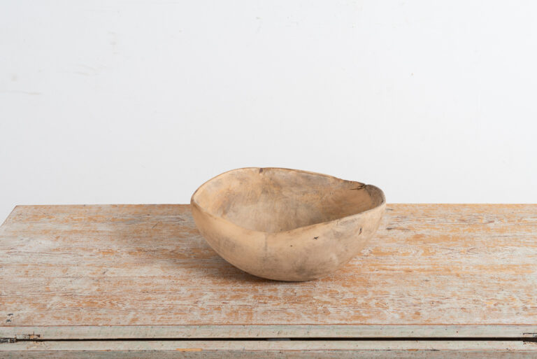 Wooden Bowl From Northern Sweden