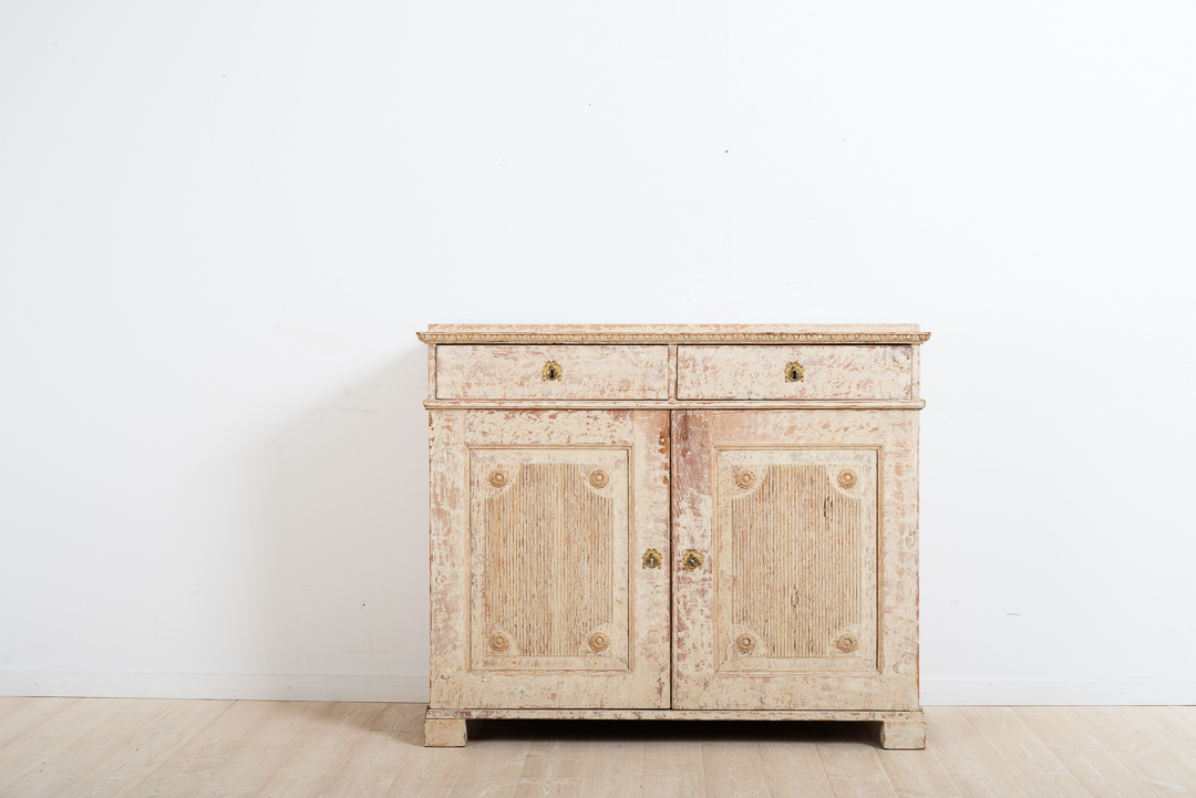 Two Door Gustavian Sideboard from 1780