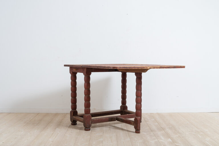 Baroque Drop Leaf Table from Around 1760