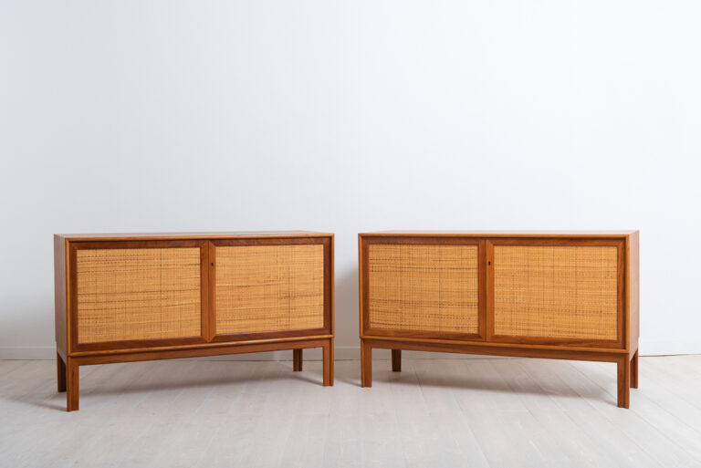 Pair of Sideboards in Teak by Alf Svensson