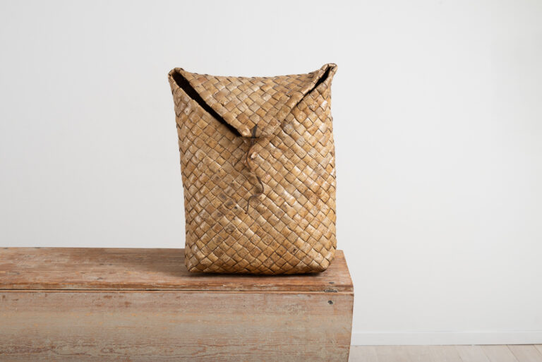 Early Rucksack in Birch Bark from Sweden