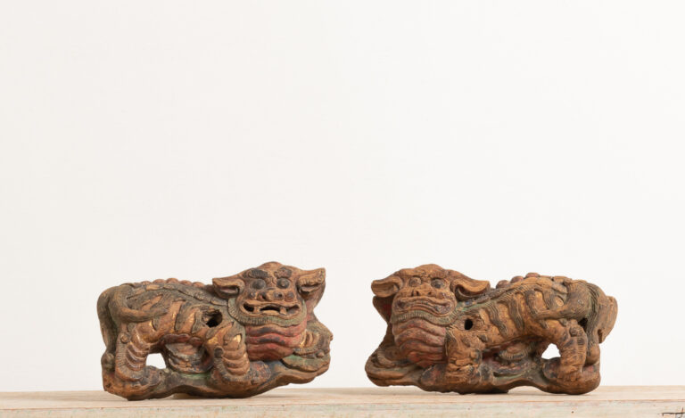 Chinese Foo Dogs in Original Condition