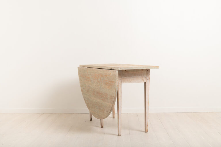 Gustavian Drop Leaf Console Table from 1810