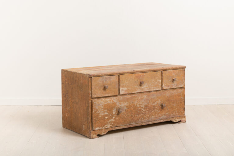 Smaller Chest of Drawers with Distressed Paint