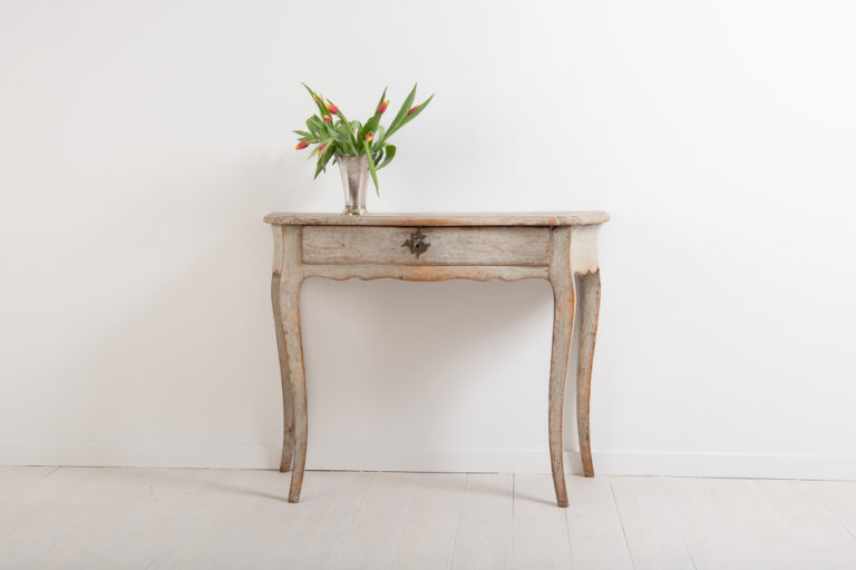 Rococo Console Table with One Drawer