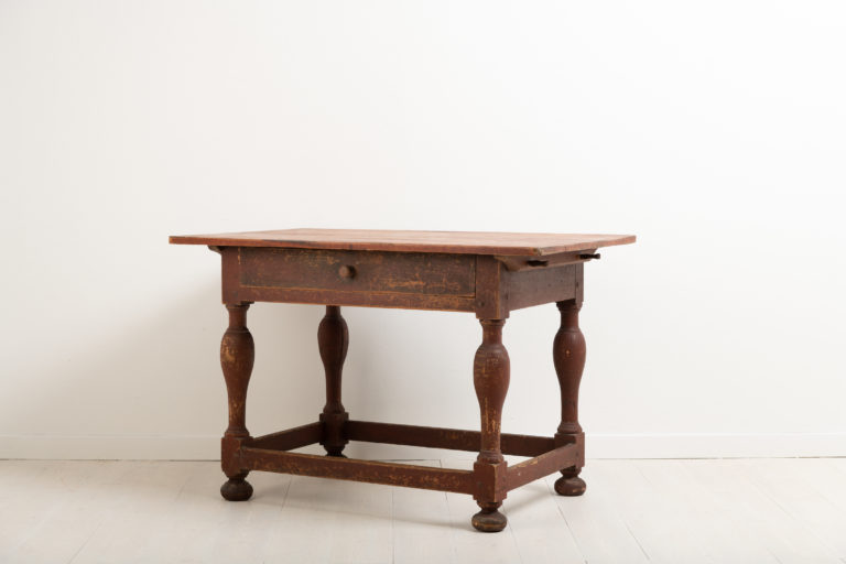 Baroque Table from Sweden in Original Condition