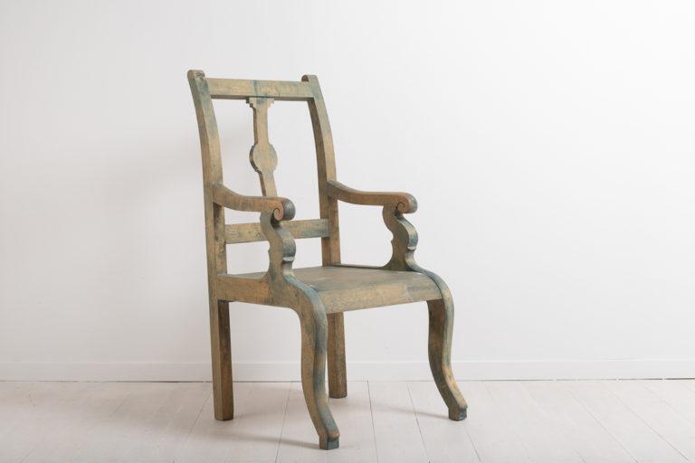 Folk Art Armchair from Northern Sweden