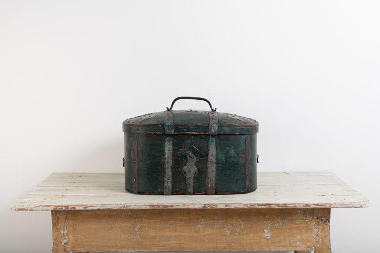 Travel Box from Northern Sweden Around Year 1800