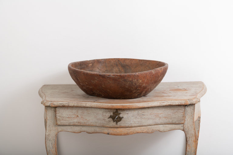 Large Root Bowl with Organic Shape