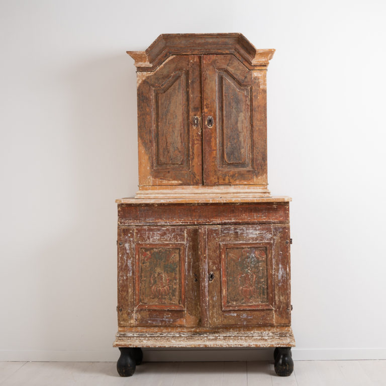 Baroque Cabinet from Northern Sweden
