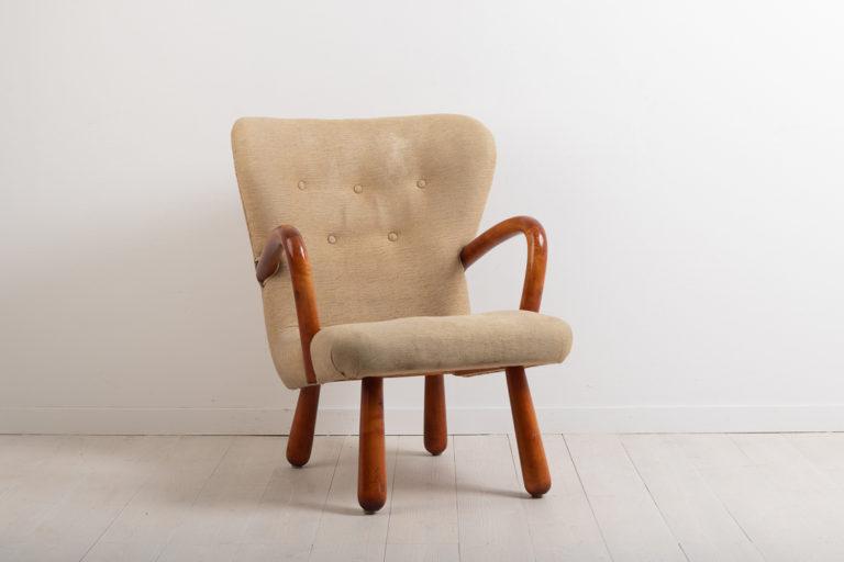 Mid-Century Armchair 'Åke' Produced by IKEA