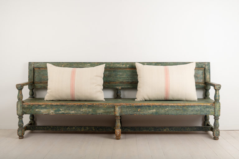 Long Sofa Bench Made in Baroque Style
