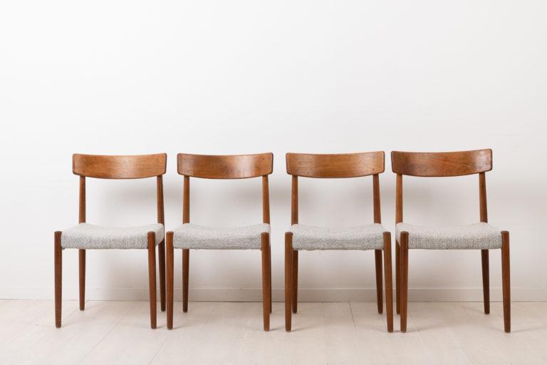 4 Chairs in Teak by Troeds Bjärnum in Sweden