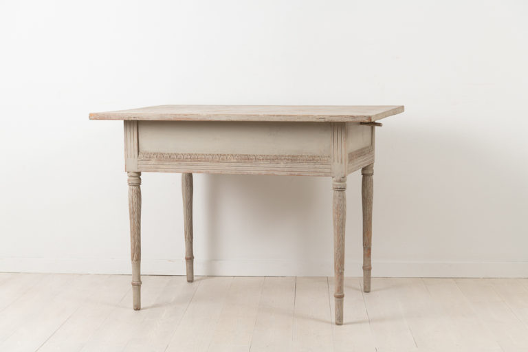 Provincial Wall Table in Neoclassical Style
