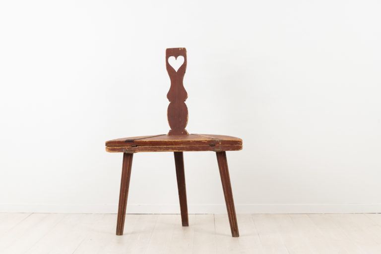 Folk Art Combination Furniture - Table and Chair