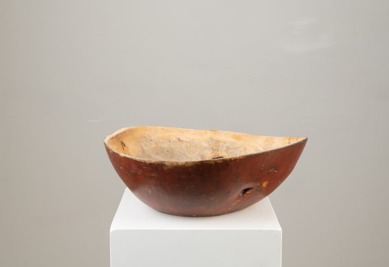 Birch Root Bowl in Untouched Original Condition