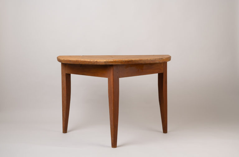Console or Wall Table in Folk Art - Provincial Neoclassic