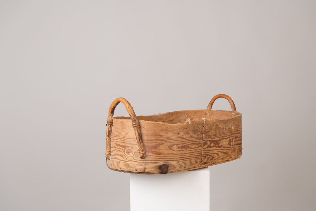 Bentwood Box in Pine from Northern Sweden