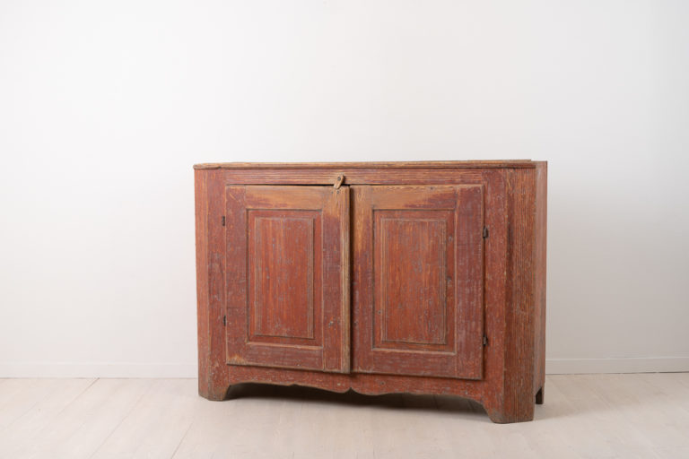 Neoclassical Folk Art Sideboard from Northern Sweden