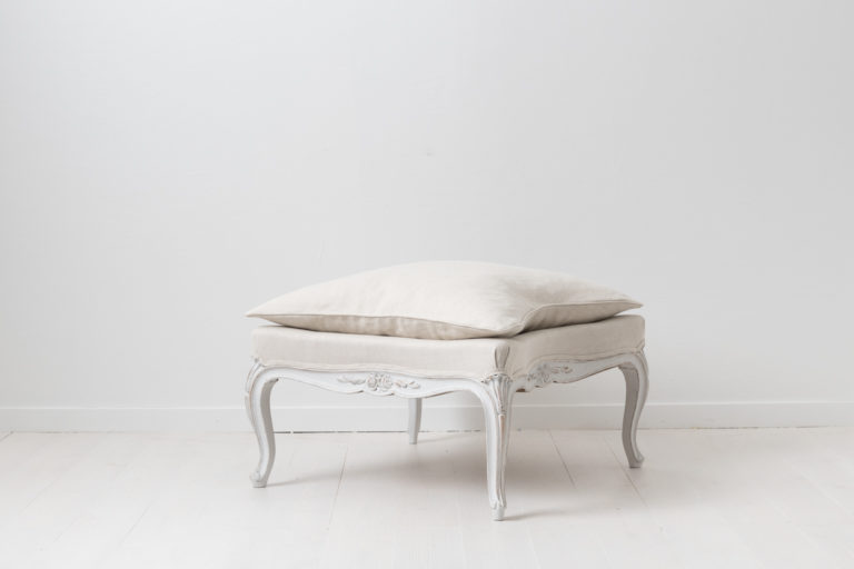 Rococo Revival Footstool or Bench from Sweden